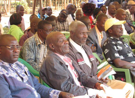 Members at the AGM